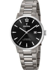 Herreur fra Festina - 20435/3 Titanium Date