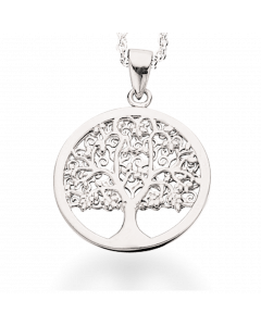 Livets Træ Sølv Vedhæng fra Scrouples 228422RH