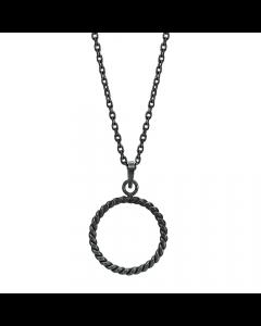 Petit Snoet Cirkel Sterling Sølv Halskæde fra Nordahl Andersen
