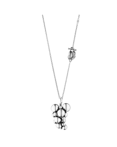 Georg Jensen Moonlight Grapes Halskæde i Sterling Sølv med Diamant 3536313