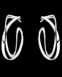 Georg Jensen Infinity Øreringe i Sterling Sølv 3539267