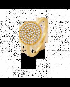 Spirit Icons Energy Øreringe i Forgyldt Sølv S53082-54