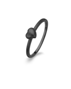 Spirit Icons Spring Heart Rhodineret Sølv Ring S53003