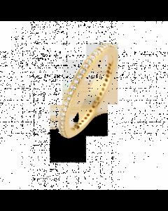 Spirit Icons Chick Ring i Forgyldt Sølv S53052-52