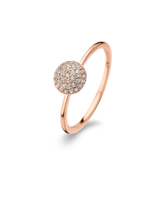 Spirit Icons Rose Ring i Rosaforgyldt Sølv S53044-54