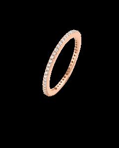 Spirit Icons Chick Ring i Rosaforgyldt Sølv S5353-54