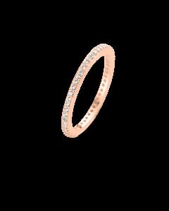 Spirit Icons Chick Ring i Rosaforgyldt Sølv S53054-54