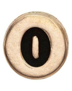 O-bogstav Forgyldt Sølv Vedhæng fra Christina Watches
