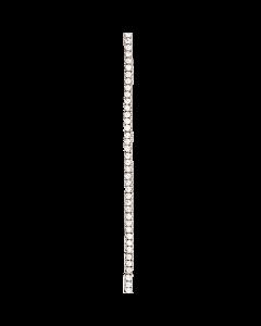 Scrouples Tennis Rhodineret Sølv Armbånd 609302