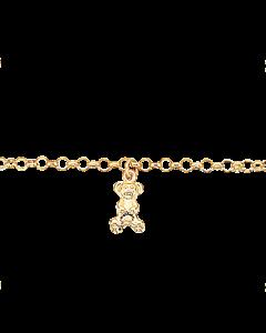 Scrouples Bamse 14 Karat Guld Armbånd 670495