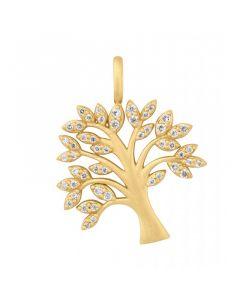 byBiehl Tree Of Life Vedhæng i Forgyldt Sølv 7-2502A-GP