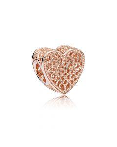 Filled With Romance Forgyldt Sølv Charm fra Pandora