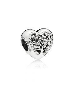 Flourishing Hearts Sølv Vedhæng fra Pandora 797058