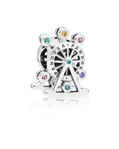 Pandora Colour Wheel Sølv Charm