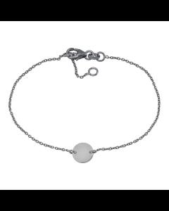 Nordahl Andersen Button Sterling Sølv Armbånd 825375