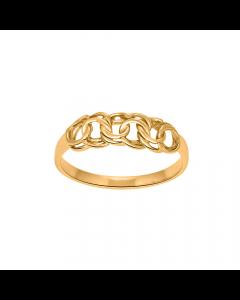 Nordahl Andersen Siersbøl Bismarck 8 Karat Guld Ring