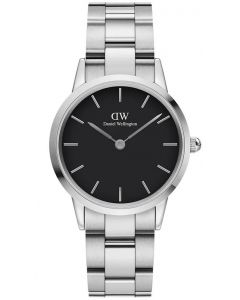 Daniel Wellington Iconic Link 32 MM Silver Black Ur ADW00100206