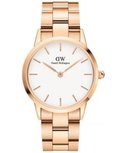 36 MM Iconic Linke Rose White Unisexur Fra Daniel Wellington ADW00100209