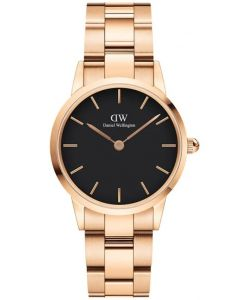 Daniel Wellington Iconic Link 28 MM Rose Black Ur ADW00100214