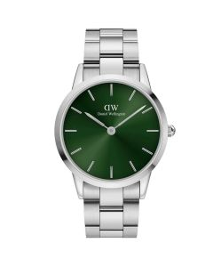 40 MM Iconic Link Emerald fra Daniel Wellington - ADW00100427
