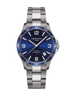 Lækkert DS-8 Blue herreur fra Certina - C0338514404700