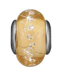 Golden Topas Globe Sterling Sølv Vedhæng fra Christina Watches