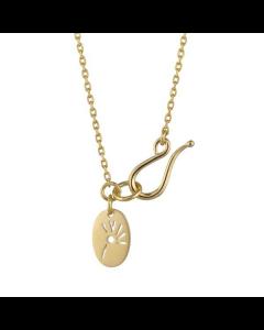 Anchor Chain Forgyldt Sølv Halskæde fra Izabel Camille