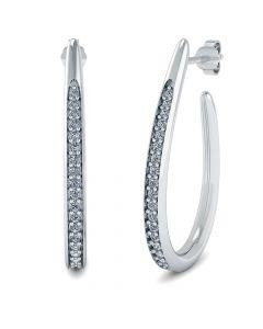 Sterling Sølv Øreringe fra Smykkekæden ORSB020S