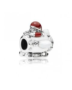 Julemand I Rumskib Sterling Sølv Charm fra Pandora